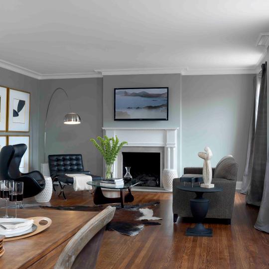 The York Living Area
